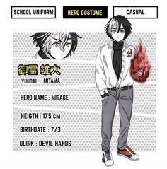 Hero Academia Characters, Anime Characters, Hero Costumes, Baby Shark, Drawing Reference, Boku No Hero Academia, Fanfiction, My Hero, Fanart