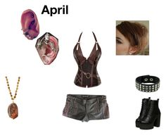 """Steampunk Lara Croft April"" by annabelletofu ❤ liked on Polyvore featuring Chicnova Fashion and Panacea"