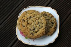 Choc Chip Oat Cookies by Hey Little Sweet Thing