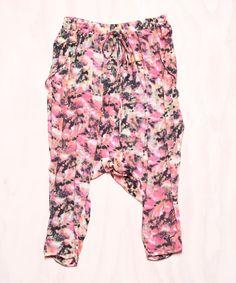 i think i'm ready for some harem pants.  summer festival wear!