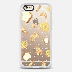 Watercolor Bread Brown Breakfast Dot by imushstore - New Standard 手機殼