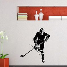Wall Decal Vinyl Sticker Gym Winter Sport Ice Hockey Player Sb656 ElegantWallDecals http://www.amazon.com/dp/B012DU33MG/ref=cm_sw_r_pi_dp_OWmWvb0SQXCCF