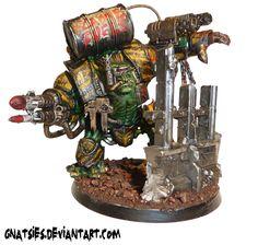 My orc brute/hulk custom build! by Gnatsies on DeviantArt