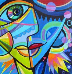 """""""A wink to Picasso""""Annet Raben  www.serpentijn.nl"""