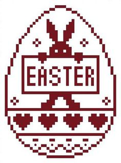 Easter pattern by Sylvia Kuhnert