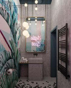 "DE&DE/Beauty salon ""Tricky mechanics"" on Behance Best Picture For home design art living rooms For Y Hair Salon Interior, Salon Interior Design, Interior Ideas, Design Salon, Beauty Salon Design, Bar Interior, French Interior, Scandinavian Interior, Interior Styling"