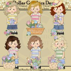 Felicity Jane - Easter Blessings - Clip Art - $1.00 : Dollar Graphics Depot, Quality Graphics ~ Discount Prices