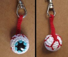 The perfect key-chain to be sure that no one will take your keys! It can also be used as a Halloween accessory to add a little zombie touch to your costume.