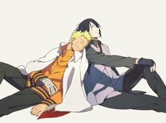 Find images and videos about anime, naruto and sasuke on We Heart It - the app to get lost in what you love. Sasunaru, Anime Naruto, Naruto Vs Sasuke, Himawari Boruto, Manga Anime, Naruto Shippuden Anime, Narusaku, Sakura And Sasuke, Naruto Gaiden