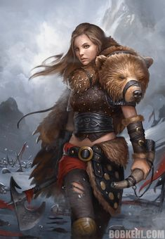 RPG Character Art Dump (Sorry if there are duplicates) - warhammer post - Imgur Fantasy Warrior, Fantasy Girl, 3d Fantasy, Warrior Girl, Fantasy Women, Medieval Fantasy, Dark Fantasy, Viking Warrior Woman, Fantasy Artwork