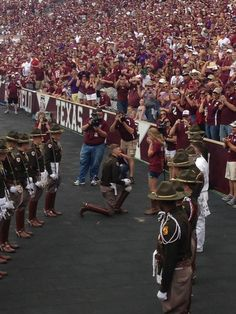 An Aggie proposal at halftime during the LSU game last year. Whoop!