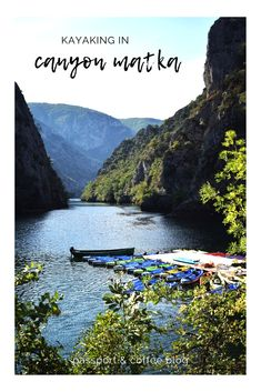 If you are spending a few days in Skopje, visiting Canyon Matka is also a must! You can take a walk along the rock walls to the sma. Double Kayak, Kayak Rentals, Small Boats, Macedonia, Early Morning, The Rock, Kayaking, Cruise, Spain