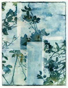 Items similar to Blue and Green Botanical Wall Art Print, TILES cyanotype photography artwork for home decor, flower print on Etsy - Healty fitness home cleaning Blue And Green, Green Art, Sun Prints, Wall Art Prints, Bleu Cyan, Monochrome, Gelli Arts, Watercolor Sky, Artwork For Home