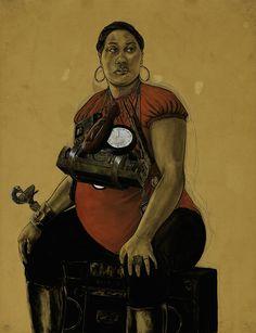 nasher robert Pruitt - fat, plus size and chubby women in art Famous Black Artists, Duke University, Chubby Ladies, Art Tutorials, Art Lessons, Art Museum, Body Positive, Fine Art, Contemporary