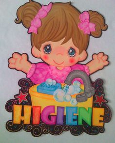 Letrero de Higiene para aula de lactantes | Fomiart Foam Crafts, Preschool Crafts, Crafts To Make, Crafts For Kids, Godly Play, Girly Cakes, Decorate Notebook, School Decorations, Scrapbook Embellishments