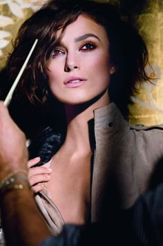 Chanel Coco Mademoiselle with Keira Knightley - love her look in this commercial