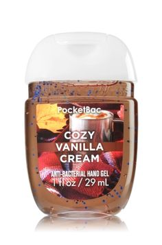 Cozy Vanilla Cream PocketBac Sanitizing Hand Gel - Soap/Sanitizer - Bath & Body Works