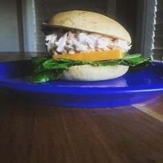 Lunch is in the near future, and something tells us tuna salad on a #GreatLowCarb burger bun could hit the spot. Only 2 net carbs per bun! [#regram from @keto.sis]