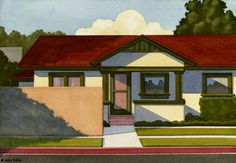 Contemporary art gallery located in San Francisco and St. Specializing in American and European paintings, drawings, sculpture, and prints Fine Art Drawing, Painting & Drawing, Art Drawings, Grant Wood, The New Yorker, Landscape Art, Landscape Paintings, American Scene Painting, American Dreams