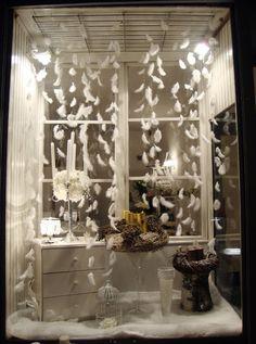winter window display More