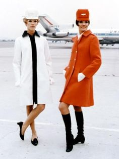 United Airlines Flight Attendants, 1960s