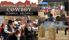 Dust off those Cowboy hats, put on those styling cowboy boots and get ready for some family fun in  Sedona, Arizona during Sedona's National Day of the Cowboy Celebration!