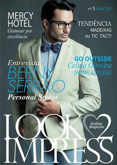 Clipping Model. André Costa Edição nº 5, da revista Look2Impress!