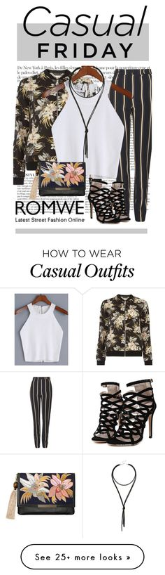 """""""Casual Friday - Cropped Top"""" by fernshadowstudio-com on Polyvore featuring Anja, Dorothy Perkins, Topshop, Lulu*s and Lizzie Fortunato"""