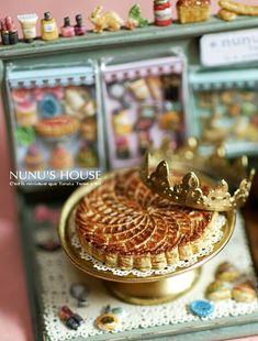 galette des rois miniature