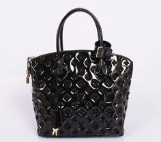 Louis Vuitton Monogram Fascination Lockit M40600 Black Size: 34 x 37 x 15 (cm)