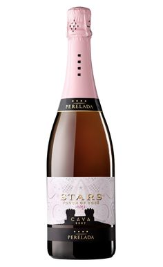 Nuevo Perelada Stars Touch of Rosé: Garnatxa + Pinot Noir. Red And White Roses, Wine Design, Sparkling Wine, Pinot Noir, Wine Recipes, Liquor, Vodka, Champagne, Projects To Try