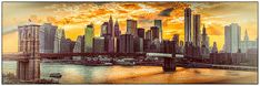 New York City Summer Panorama by Chris Lord.
