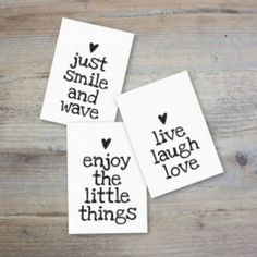 Just smile and wave. Enjoy the little things. Smile And Wave, Just Smile, Love Words, Beautiful Words, Beautiful Things, Words Quotes, Sayings, Quotes About Everything, Best Quotes