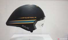 Kask showed off two new aero helmets at this year's Interbike show. The Mistral, as used by the Australian team at the Rio Olympics, is essentially an evolution of the current Bambino Pro with a somewhat clipped tail that accommodates a wider range of head positions.