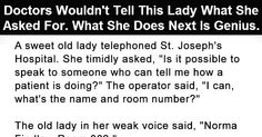 The Smartest Old Lady Ever. This Is Priceless.