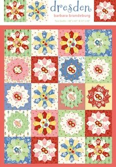 love this Dresden Plate quilt