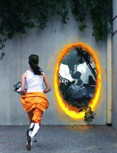 Portal 2 Cosplay: Chell by marimbamonkey14.deviantart.com on @DeviantArt