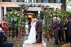 Polly and Payden's wedding at Polly's family home in Tazewell, VA. | Photography by Waldorf Photographic Art | Coordinated by Joy and Company| #WaldorfPhotographicArt #WeddingPhotography #SouthernWedding #FallWedding #WeddingInspiration
