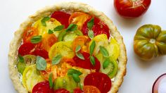 Celebrate late summer with this surprisingly easy heirloom tomato tart