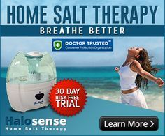 Halosense Inc – #HomeSaltTherapy.com Receives Certification from Doctor Trusted We are very proud that we earned the Doctor Trusted certificate for our health products, confirming, once again, home salt therapy efficiency in respiratory diseases.