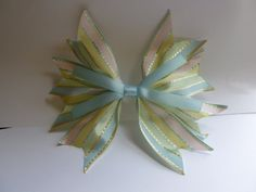 Easter bows by Krapfl Girl on Etsy