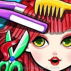 Crazy Hair Salon! Princess Fashion Doll SPA App Reviews & Download - Games App Rankings! Princess Fashion, Princess Style, Spa Games, Beauty Games, Star Show, Model One, Hair Spa, Spa Design, Beauty Spa