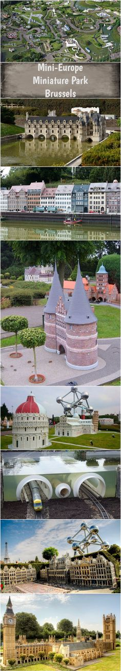 Mini-Europe Miniature Park, Brussels