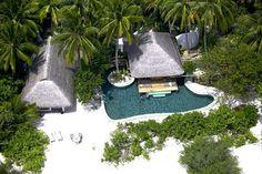 2 br  Maldives Beach Front Villa Vacation Rental: Maldives Private Beachfront Villa, Sleeps 4