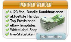 Partnerprogramm Handy-Tarife Sehr hohe Provisionen !