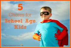 If you can find tasks that they both enjoy and can do easily, young school age kids can handle doing chores. Here are some chore ideas for school age kids.