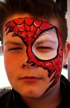 Older kid spiderman