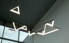 MFL Product Feature: Triangle LED Pendant System Diffuser, Triangle, Shelves, Led, Pendant, Shelving, Hang Tags, Shelving Units, Pendants