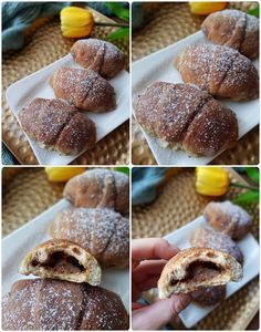 Croissant, Doughnut, Bread, Desserts, Recipes, Dios, Tailgate Desserts, Deserts, Brot