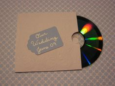 DIY cd dvd holder
